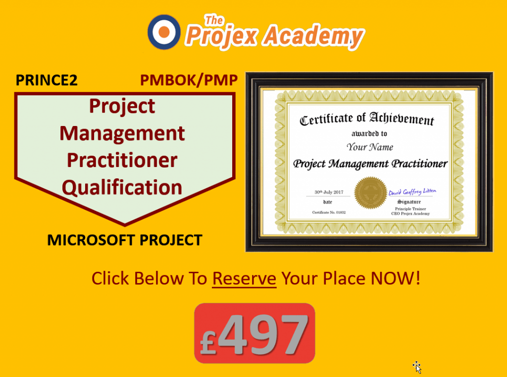 Project Management Practitioner Qualification